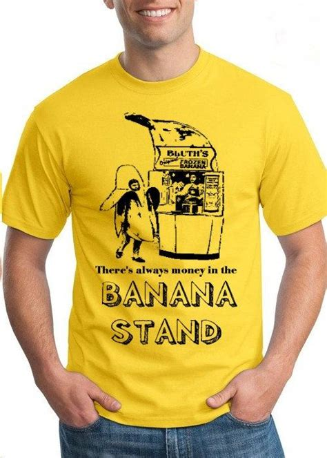 Kaosbajut Shirt Stand Up Comedy 7 small s there s always money in the banana stand shirt tshirt new yellow gob