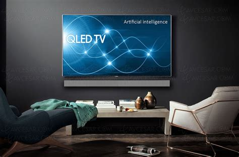 q samsung tv ces 18 gt tv qled ultra hd samsung q9 2018 avec led local dimming rempla 231 ant de la s 233 rie