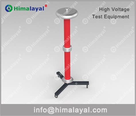 capacitor impulse test hid 300kv 400pf weak ding capacitor voltage divider