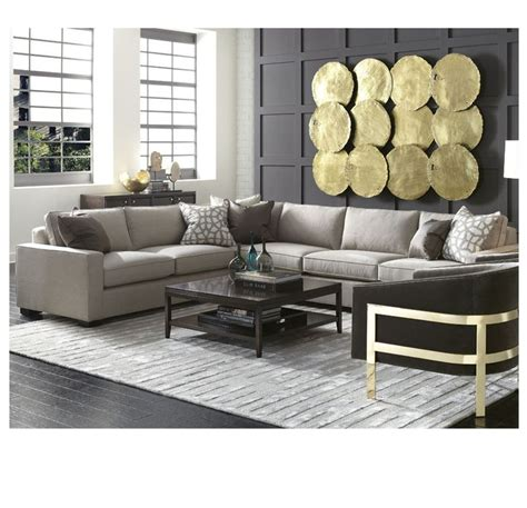 carson sectional mitchell gold bob williams frame is