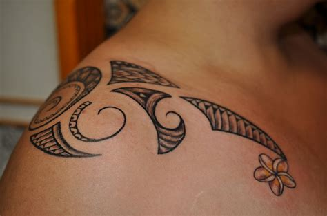 tribal tattoo female mixed polynesian by dave rodriguez tattoos