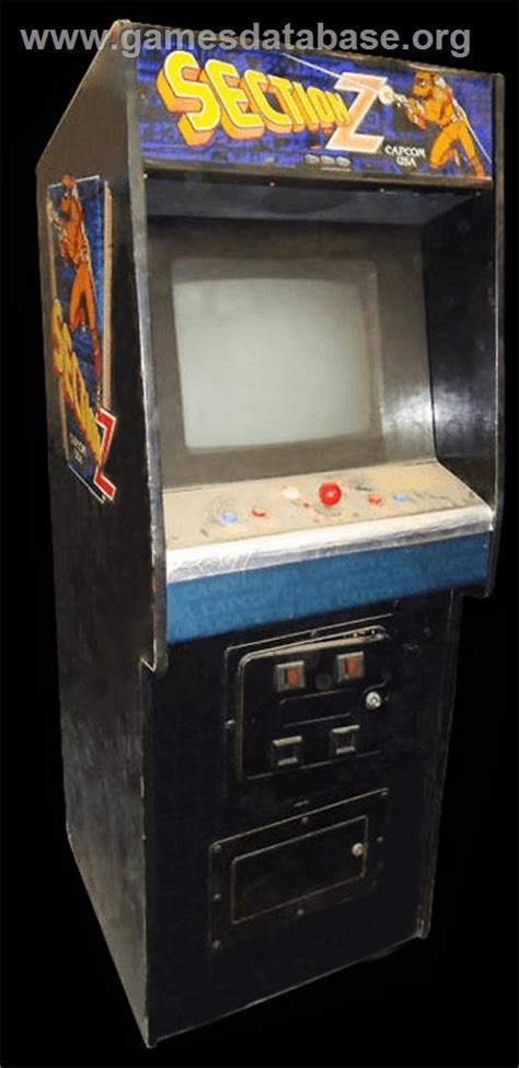 section z arcade section z arcade games database