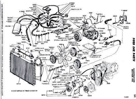ford 460 parts diagram wiring diagrams schematics