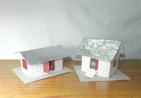How To Make A Paper House Easy - how to make a 3d paper house an easy craft for