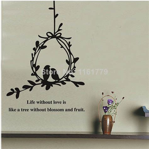 Living Room Furniture Quotes Olive Branch And Birds Wall Decals Stickers Quotes