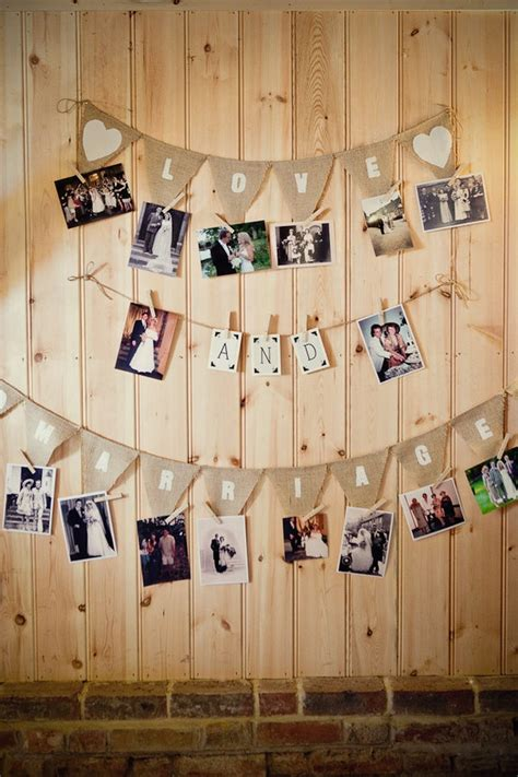 picture display ideas 21 fabulous wedding photo display ideas reception