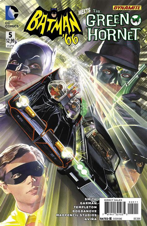 To Dc 66 batman 66 meets the green hornet 5 signed comics