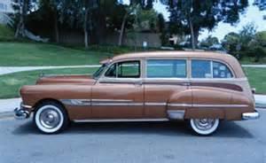1952 Pontiac Station Wagon 1952 Pontiac Chieftain Station Wagon California