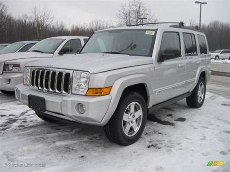 2010 jeep commander silver 2010 bright silver metallic jeep commander sport 4x4