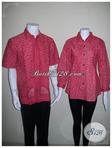 Batik Sarimbit Warna Merah 10060815a Batik Sarimbit Warna Merah Batik Pasangan Pria Dan