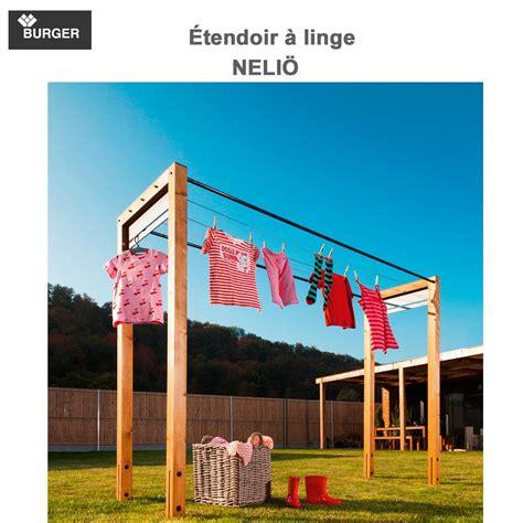 Etendoir A Linge Exterieur 465 by 201 Tendoir 224 Linge D Ext 233 Rieur En Bois Neli 246 330 00
