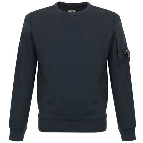 cp navy cp company uk garment dyed navy sweatshirt
