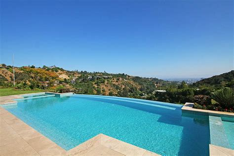 stunning house with pool and view outdoor pool views beautiful mediterranean home beverly