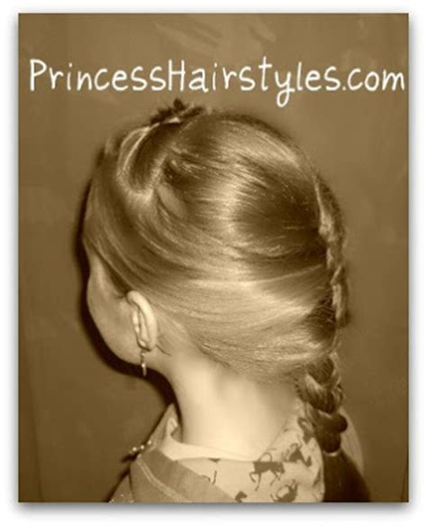 Snow White Hairstyle by Snow White And The Huntsman Braided Hairstyle