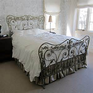 shabby chic bed frame size bed frame open metal arbor floral scrolls