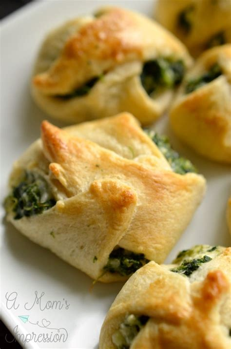 spinach crescent roll appetizers kid friendly party food