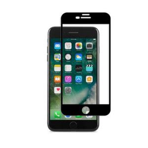 Moshi Ionglass For Iphone X Black 99mo096005 moshi ionglass iphone 7 plus glass screen protector black