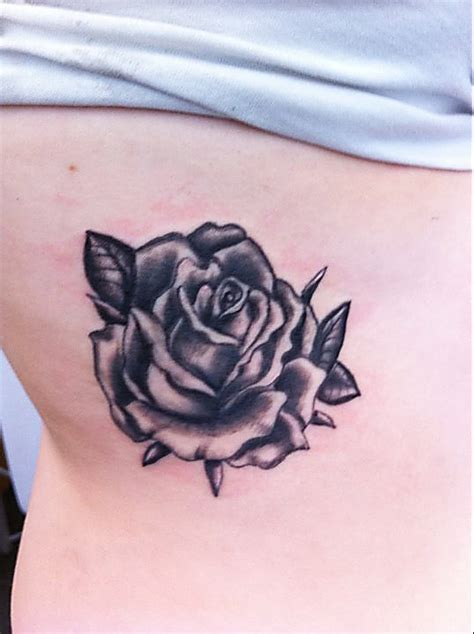 small black and white rose tattoos tattoo collection