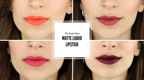 The Shop Lip Matte the shop matte lip liquid