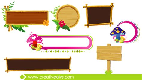 graphic design frame vector beautiful banners frames creative alys