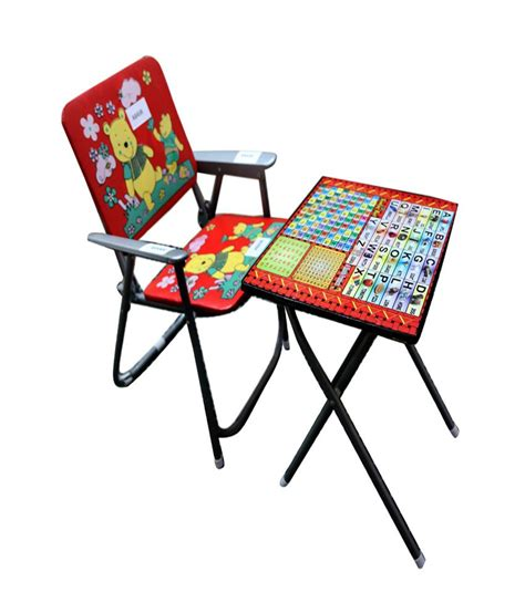 study chair and table for abasr multicolor steel frame foldable study table and