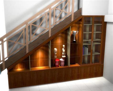 Lemari Bawah Tangga home design interior interior design wood stairs