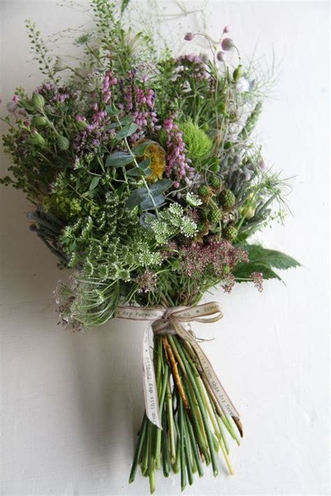 flower design st annes wild flowers grasses wedding bouquet the wedding is