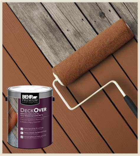 colorfully behr behr deckover 174 makeover