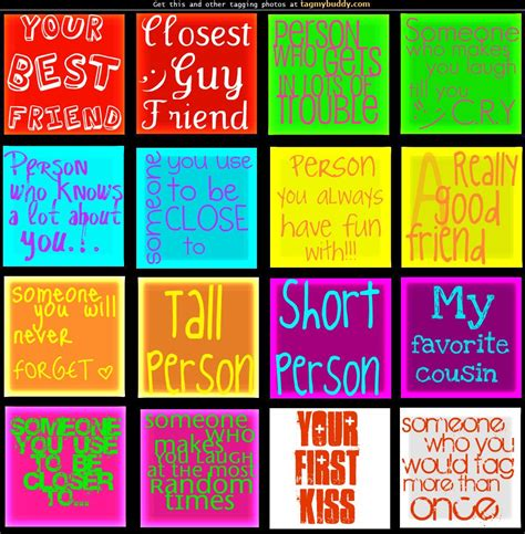 to my tag tag my buddy personality names tag image 946
