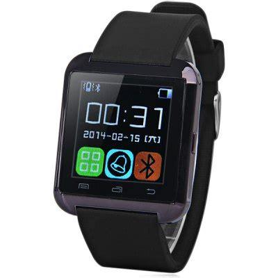 smartwatch u8 original black u8 smartwatch phone bluetooth free shipping everbuying