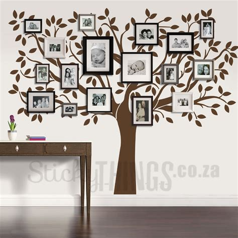 wall art family tree wall art decal stickythings co za