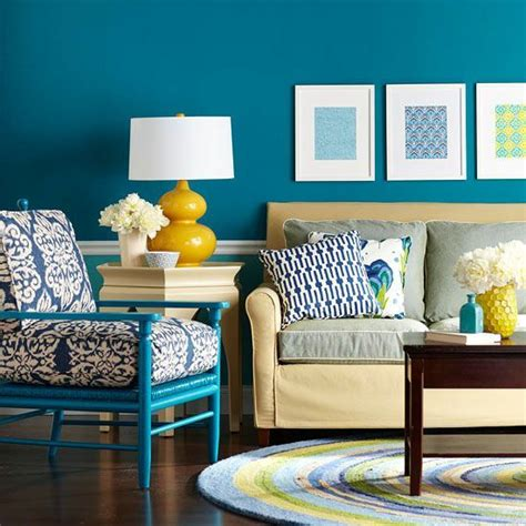 bright dash of wall color in an eclectic living room 25 best ideas about turquoise wall colors on pinterest