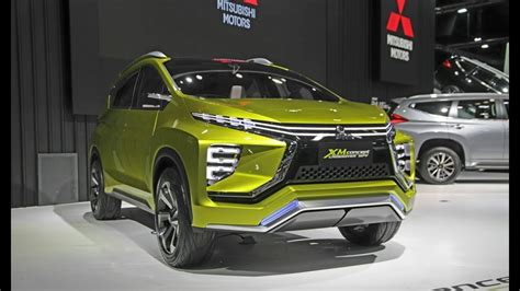mitsubishi expander giias mitsubishi expander showcased on giias 2017 in jakarta