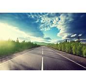 一望无际的乡间公路高清�影图片  素材中国16素材�