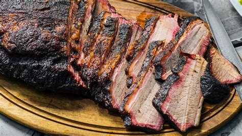 tender and smoky beef brisket is perfect for your next family bbq