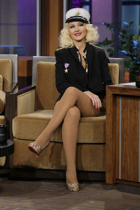 why are tamrons legs shiny on today show christina aguilera in pantyhose http stockings celebs