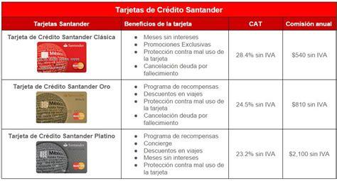 tarjetas banco santander comparativa bancos bbva bancomer santander y banamex