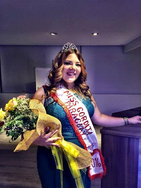 miss paraguay gordita miss gordita paraguay 2016 conoce a la ganadora del