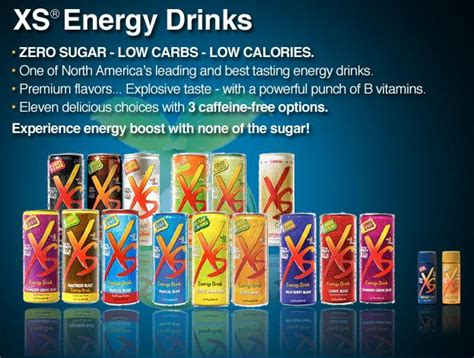 energy drink xs ingredients achieve your dreams cold flu fighter cocktail