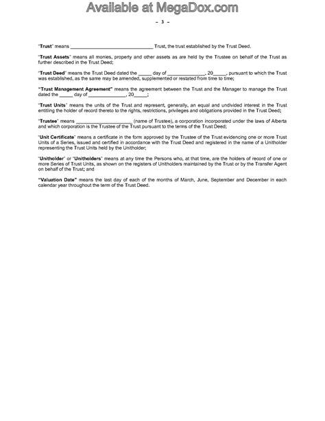 alberta offering memorandum for real estate investment