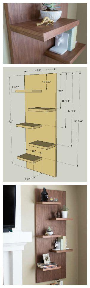diy floating display shelves find the free plans for