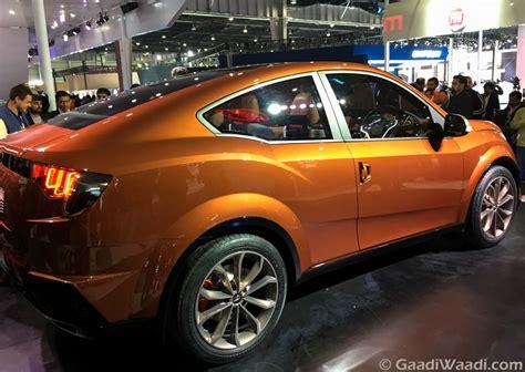 Xuv500 Design Concept   mahindra xuv aero concept unveiled at 2016 delhi auto expo