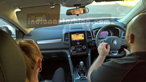 renault koleos 2015 interior 2016 renault koleos interior australia indian autos blog