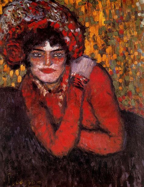 picasso paintings in us pierreuse with on shoulder 1901 pablo