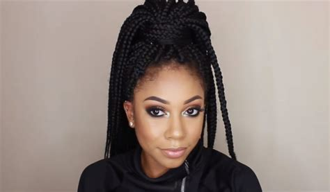 How To Do Braids Hairstyles by How To Do Box Braids Box Braids Braiding Tutorial