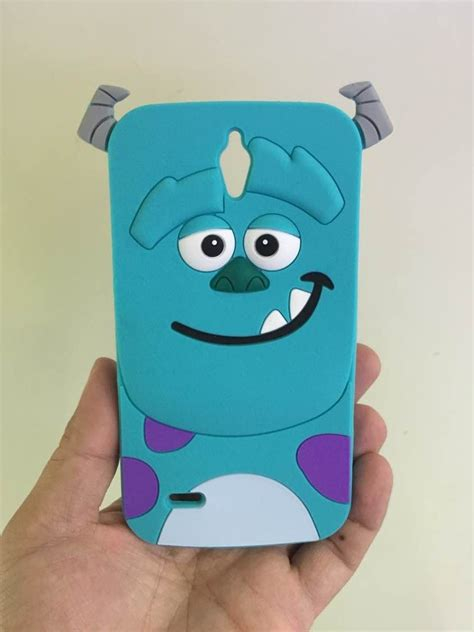 Huawei G 6 45 Sulley Soft Silicon Back Fancy Cover G6 buy 3d xiaoxi silicon soft cases