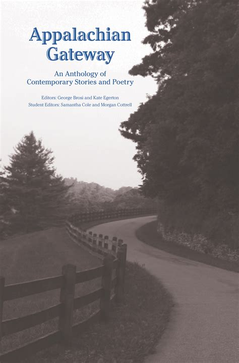 themes in appalachian literature appalachian gateway an anthology of contemporary stories