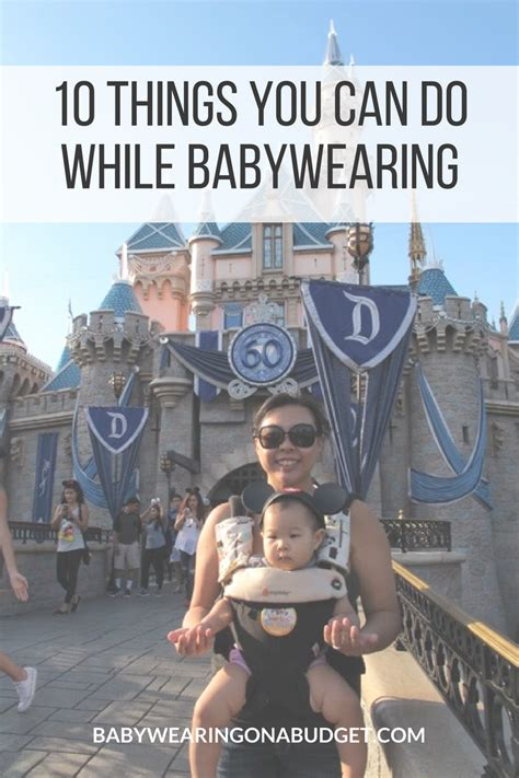 10 Things You Can Only Do In The Summer by 10 Things You Can Do While Babywearing
