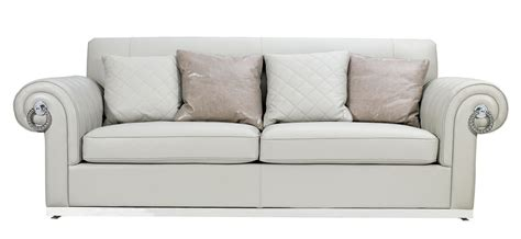 off white sofa set off white leather sofa thesofa