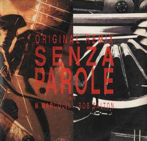senza parole vasco vasco senza parole original remix vinyl at discogs